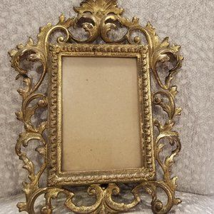 ANTIQUE  from 1930-x set of 2 METALS   FRAME
